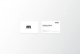 Logo y tarjetas- Abogados Reus. Boutique Jurídica | MIRAS ABOGADOS™